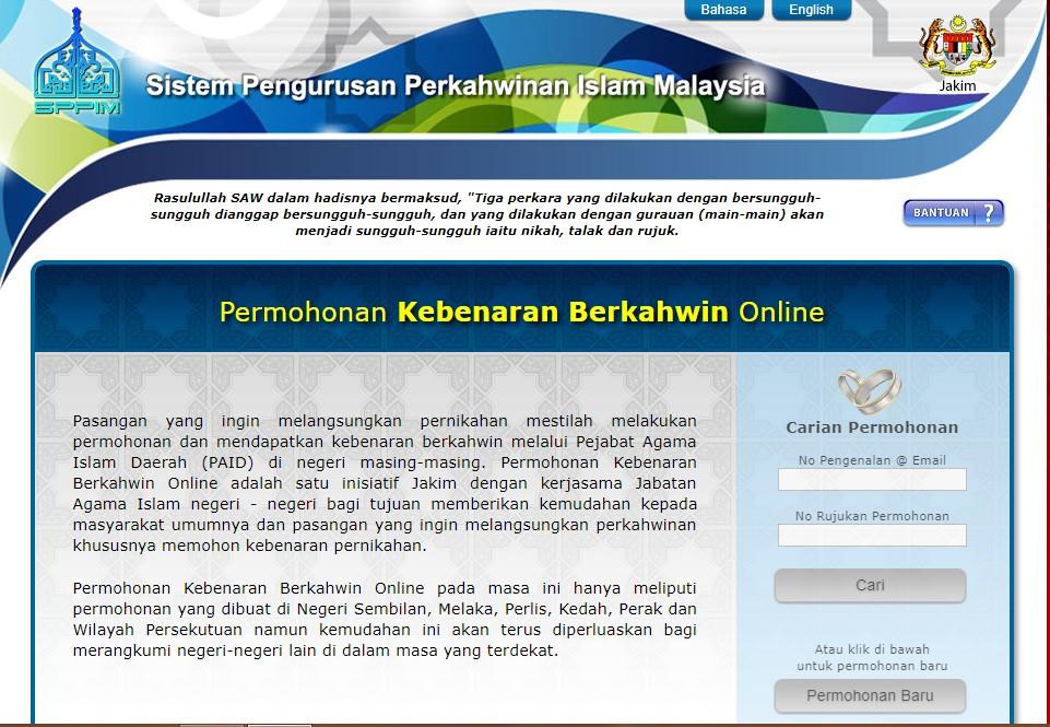 Baarakallaah Prosedur Pernikahan Di Selangor